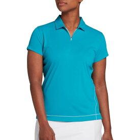 スラセンジャー Slazenger レディース ゴルフ ポロシャツ トップス【Tech Golf Polo】Teal Cayman
