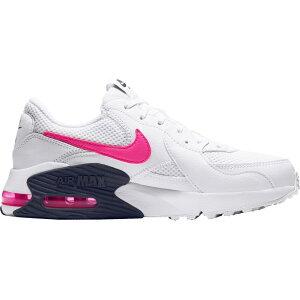 ナイキ Nike レディース スニーカー シューズ・靴【Air Max Excee Shoes】Wht/Pnk Blast/Midnght Nvy