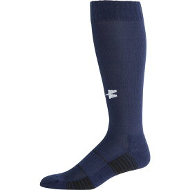アンダーアーマー Under Armour メンズ アメリカンフットボール 2点セット ソックス【Team Football OTC Socks 2 Pack】Midnight Navy