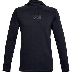 アンダーアーマー Under Armour メンズ パーカー トップス【Baseline Fleece Pullover Hoodie】Black/Pitch Gray