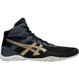 アシックス ASICS メンズ レスリング シューズ・靴【Matflex 6 Wrestling Shoes】Black/Gold