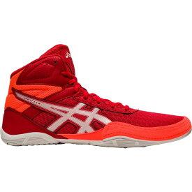 アシックス ASICS メンズ レスリング シューズ・靴【Matflex 6 Wrestling Shoes】Red/Coral