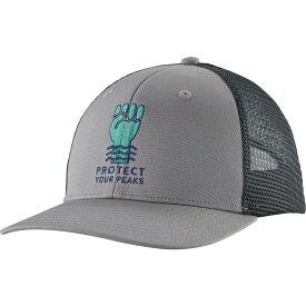 パタゴニア Patagonia メンズ キャップ トラッカーハット 帽子【Protect Your Peaks Trucker Hat】Drifter Grey