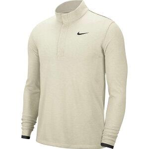 ナイキ Nike メンズ ゴルフ ハーフジップ ドライフィット トップス【Dri-FIT Victory 1/2 Zip Golf Pullover】Sail