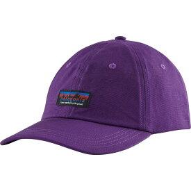 パタゴニア Patagonia ユニセックス キャップ 帽子【Together For The Planet Label Traditional Cap】Purple