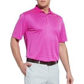 スラセンジャー Slazenger メンズ ゴルフ トップス【Core Mini Stripe Golf Polo】Berry Pink