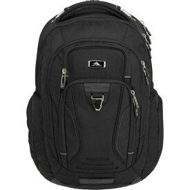 ハイシエラ High Sierra ユニセックス ハイキング・登山 バックパック・リュック【Endeavor Elite Backpack】Black