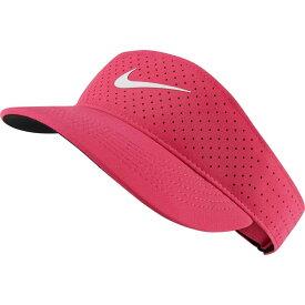 ナイキ Nike レディース サンバイザー 帽子【Court Advantage Tennis Visor】Vivid Pink