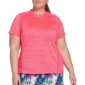 スラセンジャー Slazenger レディース ゴルフ トップス【Bold Texture Golf Polo】Hot Pink