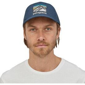 パタゴニア Patagonia メンズ 帽子 【Line Logo Ridge Channel Watcher Hat】Stone Blue