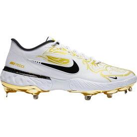 ナイキ Nike メンズ 野球 スパイク シューズ・靴【Alpla Huarache Elite 3 Low Premium Baseball Cleats】White/Gold