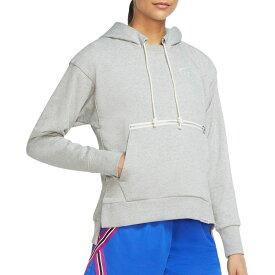 ナイキ Nike レディース バスケットボール パーカー トップス【Swoosh Fly Standard Issue Basketball Hoodie】Grey Heather