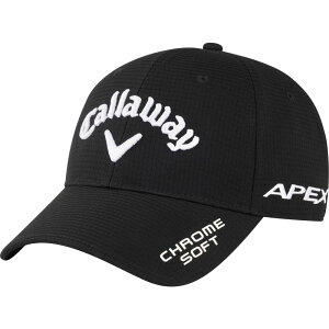 キャロウェイ Callaway メンズ 帽子 【Tour Authentic Performance Pro Deep Hat】Black