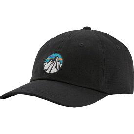 パタゴニア Patagonia メンズ キャップ 帽子【Fitz Roy Scope Icon Traditional Hat】Black
