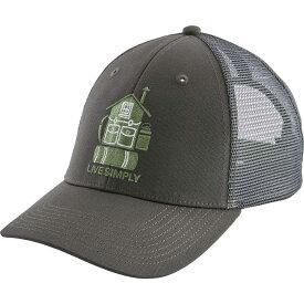 パタゴニア Patagonia メンズ キャップ トラッカーハット 帽子【Live Simply Home LoPro Trucker Hat】Forge Grey