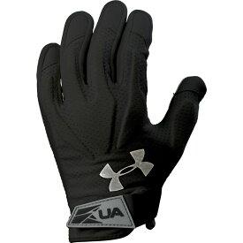 アンダーアーマー Under Armour レディース ラクロス グローブ【Illusion 3 HeatGear Lacrosse Gloves】Black