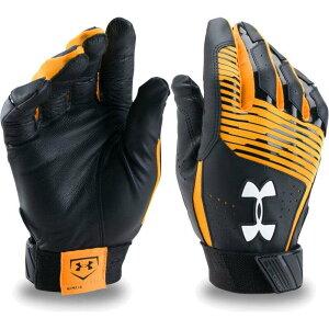 アンダーアーマー Under Armour ユニセックス 野球 バッティンググローブ グローブ【Adult Clean Up Batting Gloves 2020】Gold
