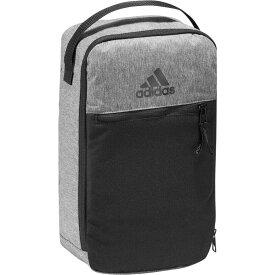 アディダス adidas ユニセックス ゴルフ シューズケース【Front Zip Golf Shoe Bag】Grey