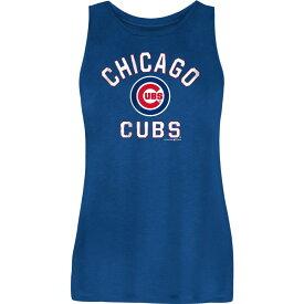 ニューエラ New Era レディース タンクトップ トップス【Chicago Cubs Blue Rayon Spandex Tank Top】
