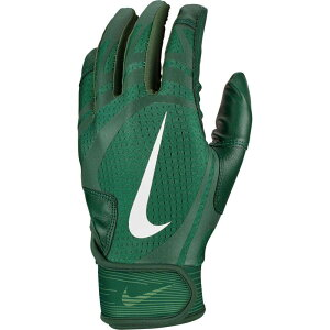 ナイキ Nike ユニセックス 野球 バッティンググローブ グローブ【Alpha Huarache Edge Batting Gloves 2020】Forest Green/White