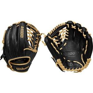 ウィルソン Wilson ユニセックス 野球 グローブ【11.5'' A1000 Series 1789 Glove 2020】Black