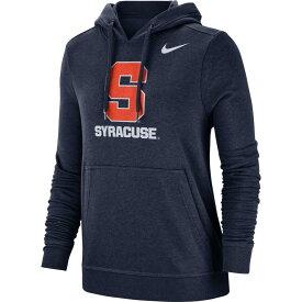 ナイキ Nike レディース パーカー トップス【Syracuse Orange Blue Club Fleece Pullover Hoodie】
