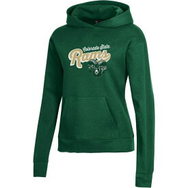 アンダーアーマー Under Armour レディース パーカー トップス【Colorado State Rams Green All Day Hoodie】