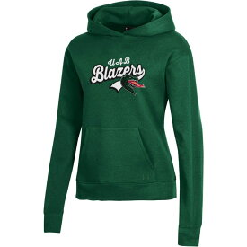 アンダーアーマー Under Armour レディース パーカー トップス【UAB Blazers Green All Day Pullover Hoodie】