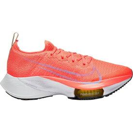 ナイキ Nike レディース ランニング・ウォーキング エアズーム シューズ・靴【Air Zoom Tempo Next% Flyknit Running Shoes】BRIGHT MANGO/WHITE