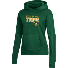 アンダーアーマー Under Armour レディース パーカー トップス【William & Mary Tribe Green All Day Pullover Hoodie】