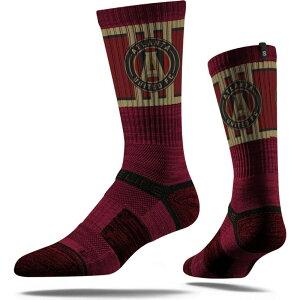 ストライドライン Strideline ユニセックス サッカー 【Atlanta United Maroon Crew Socks】