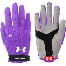 アンダーアーマー Under Armour レディース ラクロス グローブ【Illusion Lacrosse Field Gloves】Purple