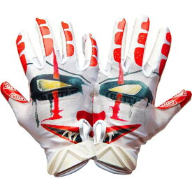 バトル Battle ユニセックス アメリカンフットボール レシーバーグローブ グローブ【Adult Clown Receiver Gloves】