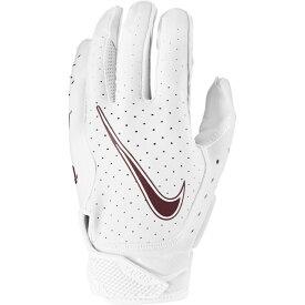 ナイキ Nike ユニセックス アメリカンフットボール レシーバーグローブ グローブ【Adult Vapor Jet 6.0 Receiver Gloves】White/White/Deep Maroon