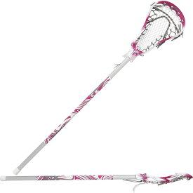 エスティーエックス STX レディース ラクロス スティック【Exult 200 on AL 6000 Complete Lacrosse Stick】Fireberry/White