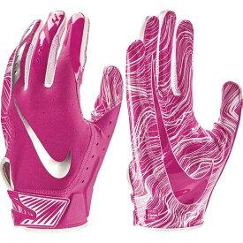 ナイキ Nike ユニセックス アメリカンフットボール レシーバーグローブ グローブ【Adult Vapor Jet 5.0 Breast Cancer Awareness Receiver Gloves】Pink