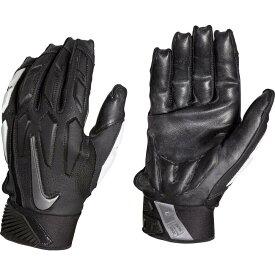 ナイキ Nike ユニセックス アメリカンフットボール ラインマングローブ グローブ【Adult D-Tack 6.0 Lineman Gloves】Black/White