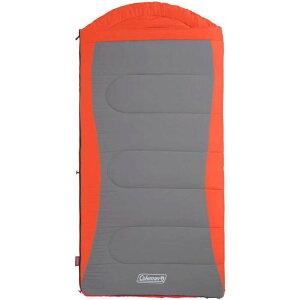 コールマン Coleman ユニセックス ハイキング・登山 大きいサイズ 寝袋【Dexter 50F Big and Tall Sleeping Bag】Orange/Grey