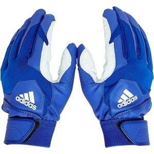 アディダス adidas ユニセックス 野球 バッティンググローブ グローブ【Adult Trilogy Series Batting Gloves】Royal