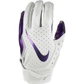ナイキ Nike ユニセックス アメリカンフットボール レシーバーグローブ グローブ【Adult Vapor Jet 6.0 Iridescent Receiver Gloves】Wht/Iridescent/Iridescent