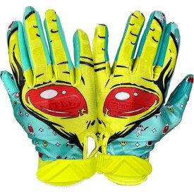 バトル Battle ユニセックス アメリカンフットボール レシーバーグローブ グローブ【Adult Alien Receiver Gloves】