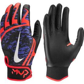 ナイキ Nike レディース 野球 バッティンググローブ グローブ【HyperDiamond Edge Batting Gloves】Violet/White
