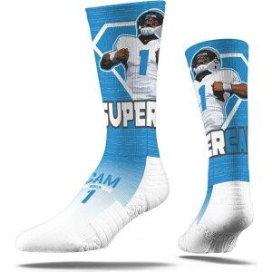 ストライドライン Strideline ユニセックス ソックス インナー・下着【Carolina Panthers Cam Newton Crew Socks】