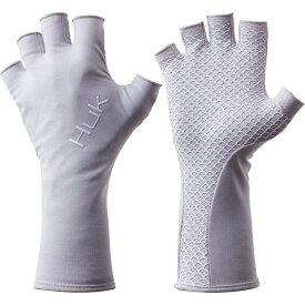 ハック HUK メンズ 釣り・フィッシング グローブ【Pursuit Sun Fishing Gloves】Glacier