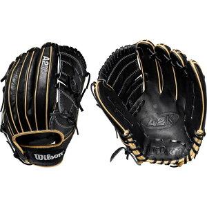 ウィルソン Wilson ユニセックス 野球 グローブ【12'' A2K Series B2 Glove 2020】Black/Blonde