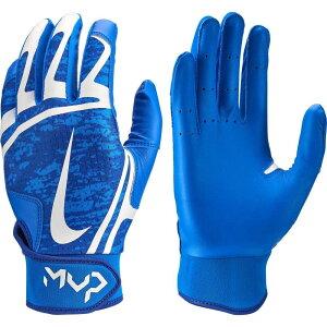ナイキ Nike レディース 野球 バッティンググローブ グローブ【HyperDiamond Edge Batting Gloves】Royal