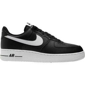 ナイキ Nike メンズ バスケットボール エアフォースワン シューズ・靴【Air Force 1 '07 Shoes】Black/White/Black