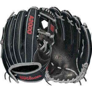 ウィルソン Wilson ユニセックス 野球 グローブ【12'' A2000 Spin Control Series H12 Fastpitch Glove 2021】Black/Grey