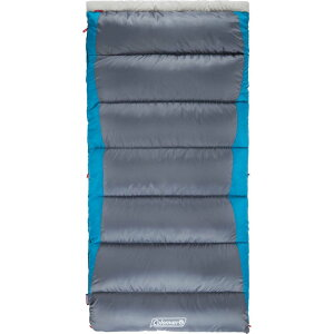 コールマン Coleman ユニセックス ハイキング・登山 大きいサイズ 寝袋【Autumn Glen 30F Big & Tall Sleeping Bag】Grey/Blue