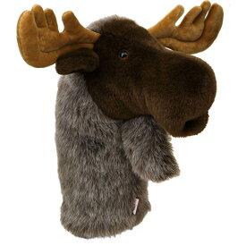ダフィニーズ Daphne's Headcovers ユニセックス ゴルフ ヘッドカバー【Moose Headcover】